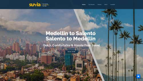 Client | Suvia Travel Colombia